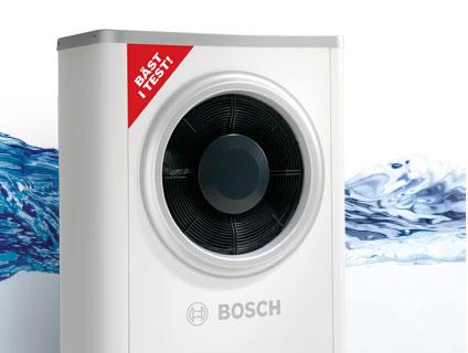 Bosch luft-vatten värmepump