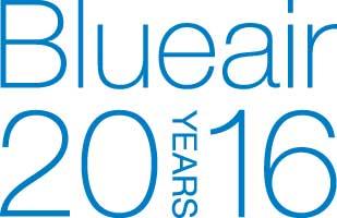 Blueair 20 års jubileumslogga