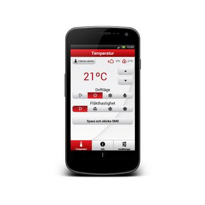 Bosch GSM fjärrstyrningssystem App