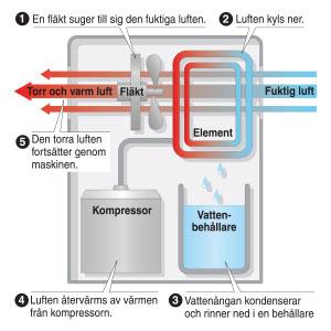 Kondenseringsavfuktare