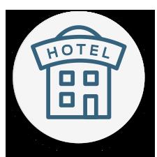 Luftrenare för hotellrum