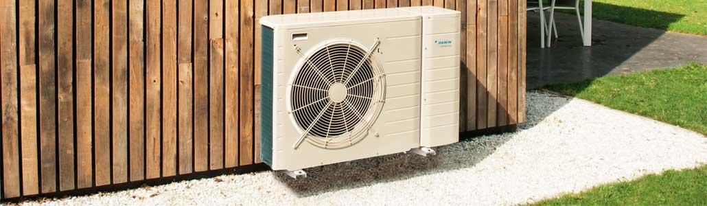 Daikin MonoBlock luft-vatten värmepump