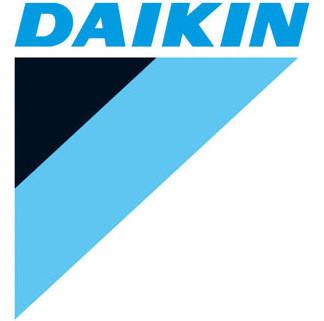 Daikin logga stående variant