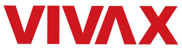 Vivax logga i rött