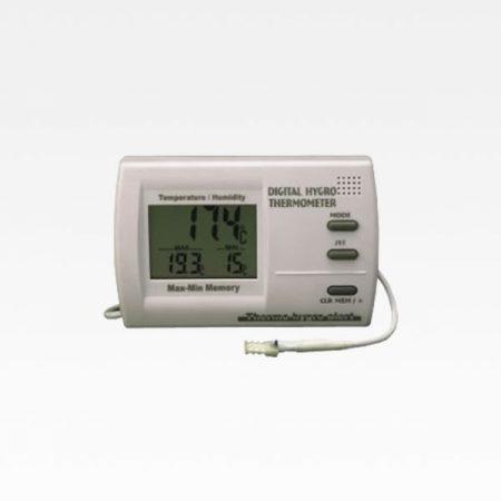 Woods SS-7002 termo-hygrometer med sensor på 2 m sladd