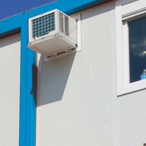 Enhetsaggregat för enkel och skön luftkonditionering