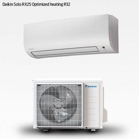 Daikin Solo XR25 Optimised Heating R32