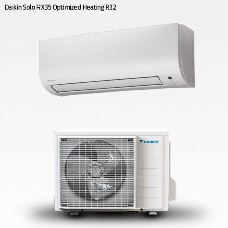 Daikin Solo XR35 Optimised Heating R32