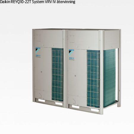 Daikin REYQ10-22T VRV IV värmeåtervinning