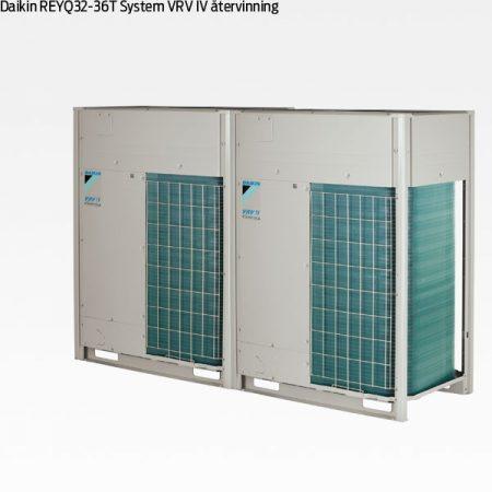 Daikin REYQ32-34-36T VRV IV värmeåtervinning