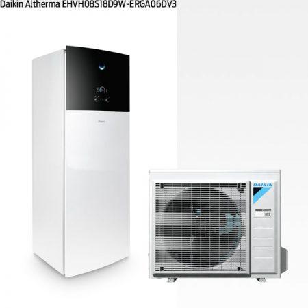 75DA180 Daikin Altherma 3 med EHVH08S18D9W-ERGA06DV3