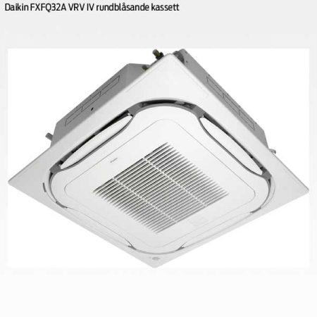 Daikin FXFQ32A rundblåsande takkassett VRV IV