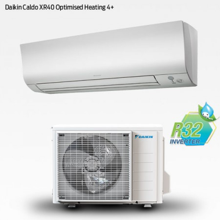 Daikin Caldo XR40 Optimised Heating 4+ med R32