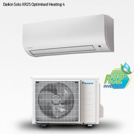 Daikin Solo XR25 Optimised Heating 4 med R32