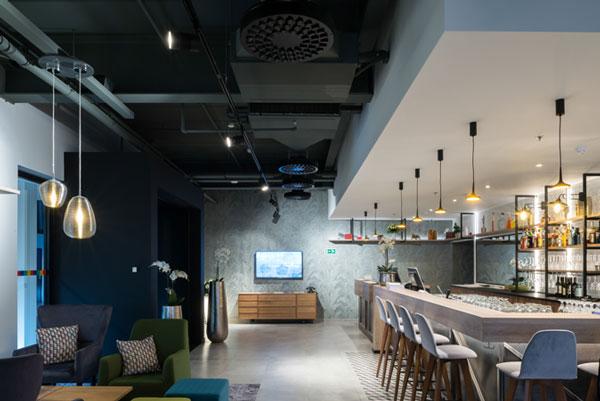 Luftkonditionering restaurang och kafé