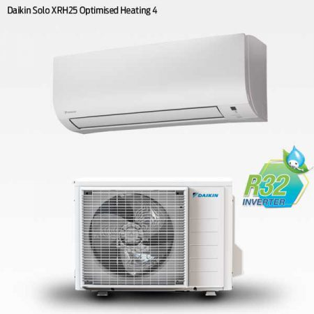 Daikin Solo XRH25 Optimised Heating 4