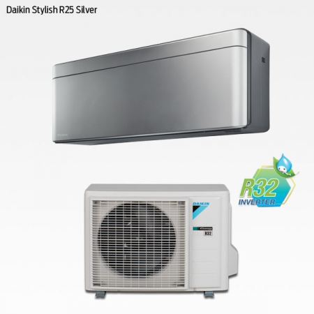 Daikin Stylish R25 Silver