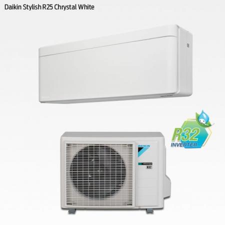Daikin Stylish R25 Chrystal White