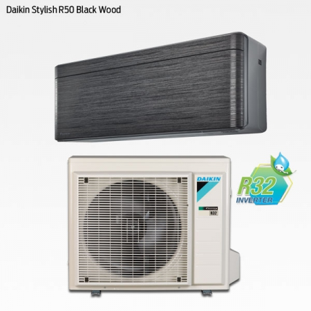 Daikin Stylish R50 Black Wood