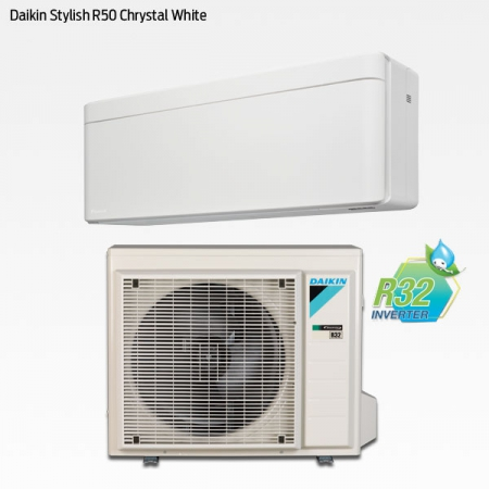 Daikin Stylish R50 Chrystal White