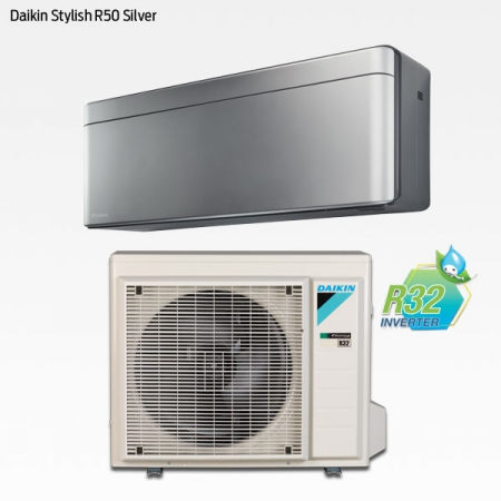 Daikin Stylish R50 Silver